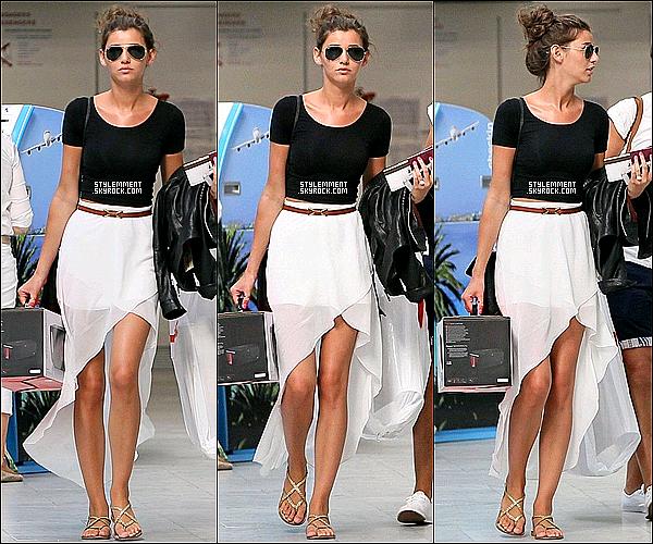 10/07/2012 | Louanor aperçu à l'aéroport de Nice en France pour rentrer aux UK.
