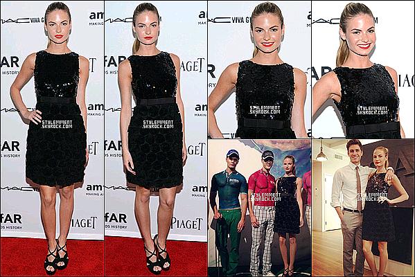 07/06/12 | Emma était à la 3e édition de l'amfAR Inspiration Gala à New York.