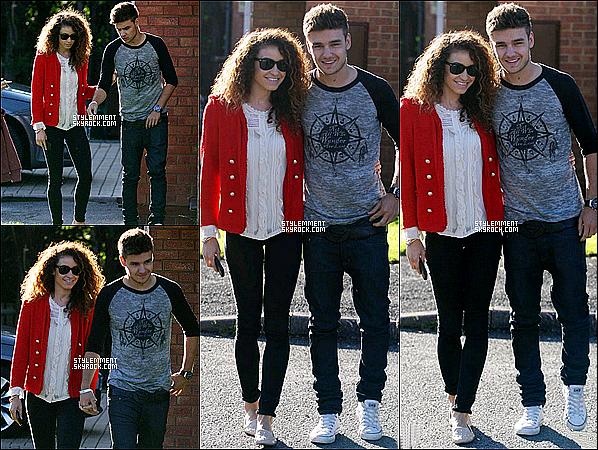 29/08/2012 | Diam aperçu devant la maison de famille de Liam à Wolverhampton.