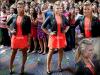 08/07/12 | Demi et les autres juges d'XFactor étaient à Greensboro pour les auditions.