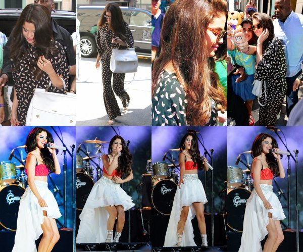 Selena in NY