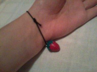 Bracelet fraise