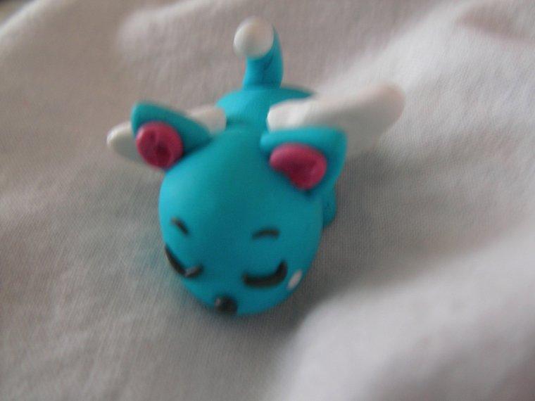 Chat bleu de Fairy Tail Happy