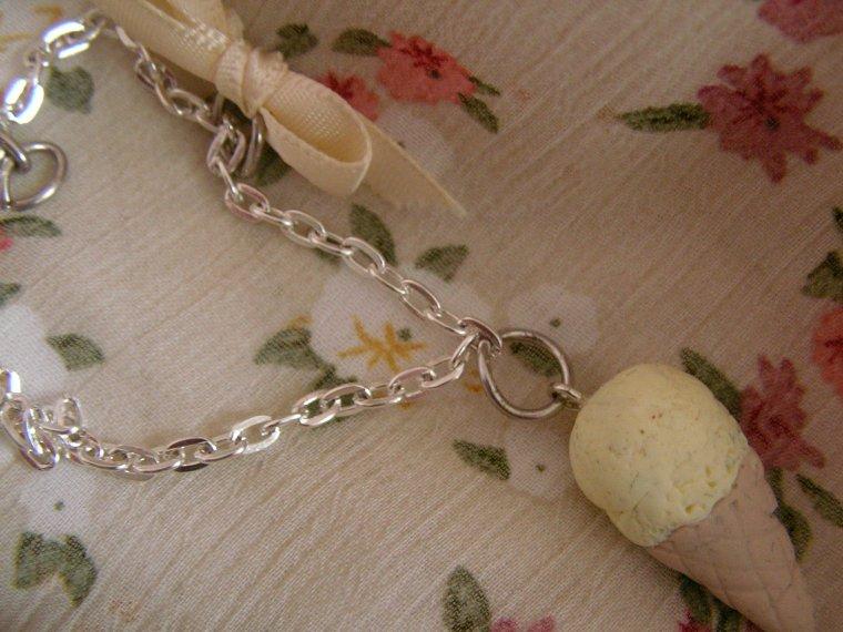 Bracelet ice cream vanille