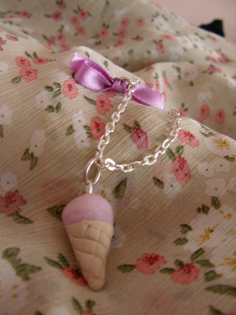 Bracelet ice cream violette