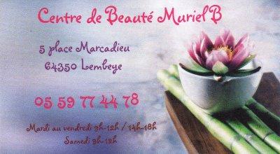Points de Vente DARKPINK: Centre de Beauté Muriel B