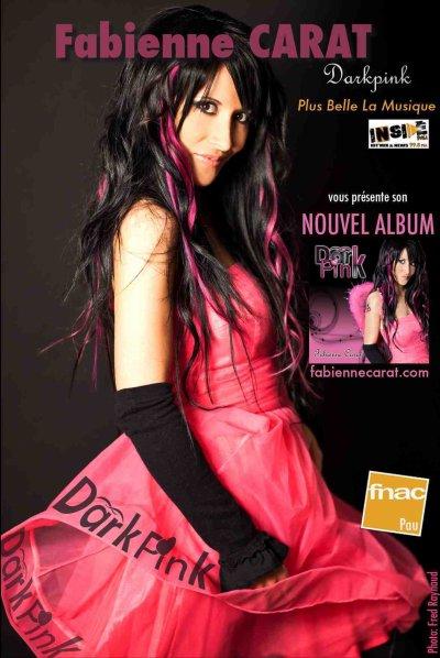 NOUVEL Album DARKPINK ... bientôt le CLIP sur fabiennecarat.com ...