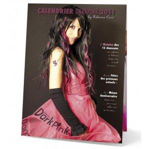 Le CALENDRIER de Fabienne disponible sur fabiennecarat.com