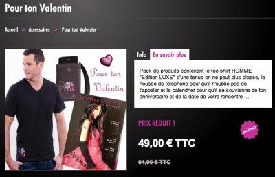 OFFRE St VALENTIN : Idée CADEAU pour ton Valentin !