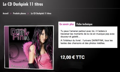 Pour COMMANDER l'Album DARKPINK