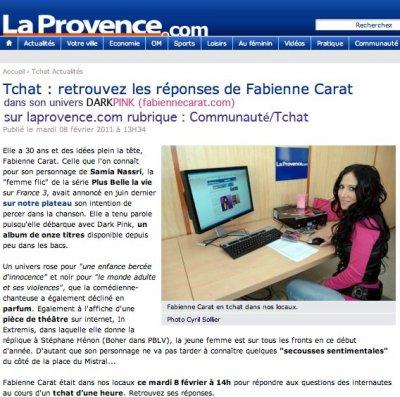 Retrouvez les réponses du TCHAT de Fabienne sur: http://www.laprovence.com/Communautes-Tchats
