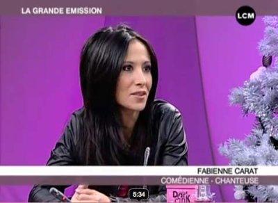 Fabienne était présente Jeudi 24 février sur le plateau d'LCM !