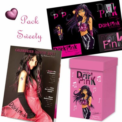 Découvrez les nouveaux PACKS de la boutique DARKPINK !!!