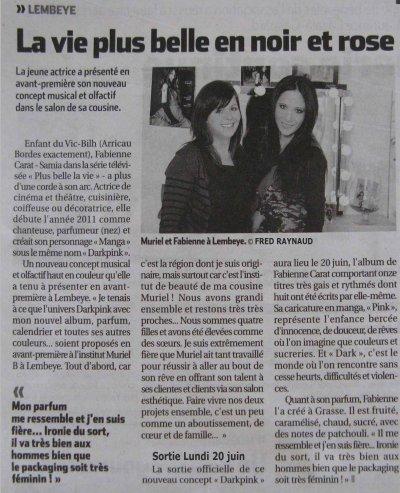 SCOOP !!! SORTIE OFFICIELLE DE L'ALBUM et L'UNIVERS DARKPINK !!! LUNDI 20 JUIN