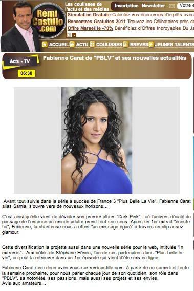 Fabienne sera présente sur le plateau de remicastillo.com !
