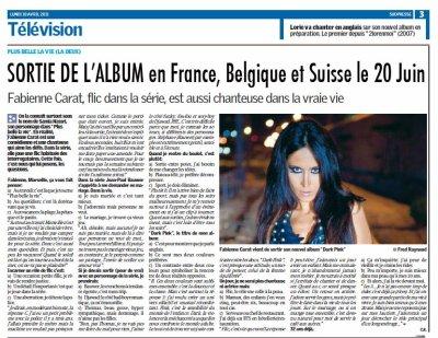SORTIE OFFICIELLE de L'ALBUM DARKPINK en FRANCE, BELGIQUE et SUISSE ... LUNDI 20 JUIN !!!