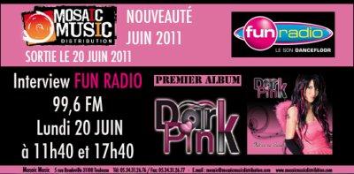 Fabienne INVITÉE sur FUN RADIO !