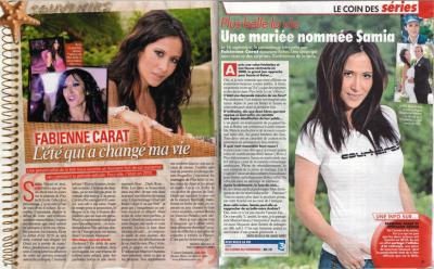 Fabienne CARAT dans TV Grandes Chaînes !!!