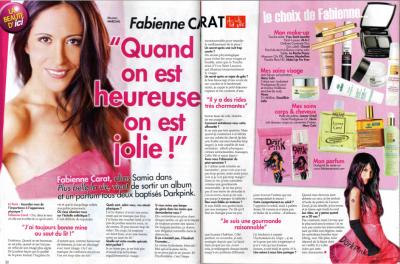 """L'article ICI PARIS des pages """"Beauté"""" de Fabienne Carat"""
