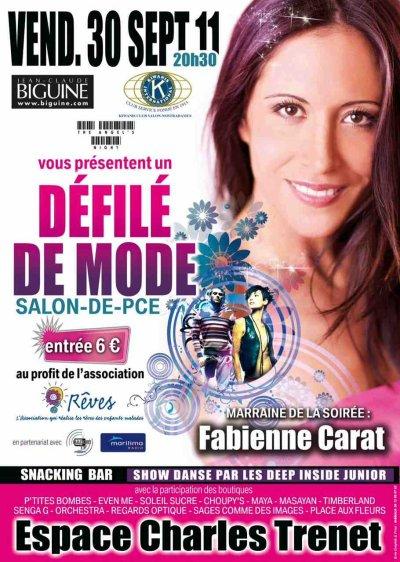 Fabienne vous donne RDV le 30 septembre !!! à l'Espace Charles Trenet - Salon de Provence