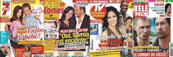 Découvrez les INTERVIEWS de Fabienne sur la grossesse de SAMIA !