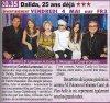 CHABADA POUR DALIDA avec Fabienne Carat Vendredi 4 Mai sur FR3 à 20h35  Habillée par Garella