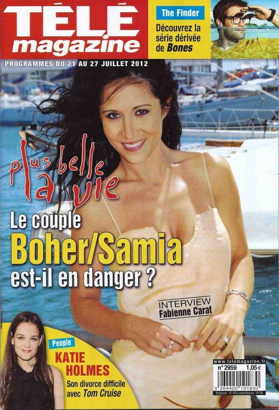 Dans TéléMAGAZINE du 21 au 27 juillet 2012 !!!