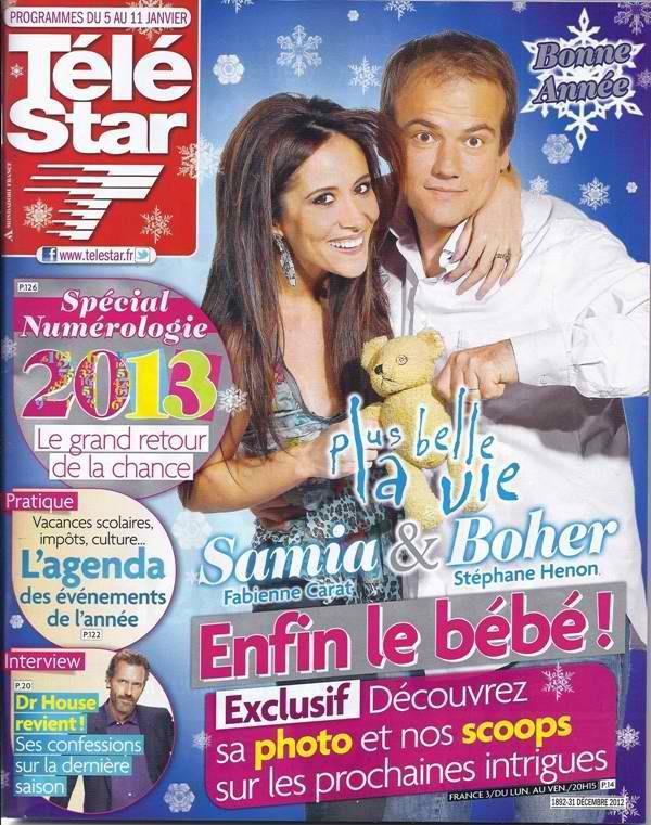 Retrouvez l'interview de Fabienne dans TéléStar du 5 janvier ...