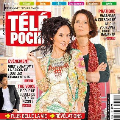 Du 20 au 26 avril Interviews et Articles sur l'intrigue CHOC de Fabienne Carat tous les soirs sur FR3 dans +Belle