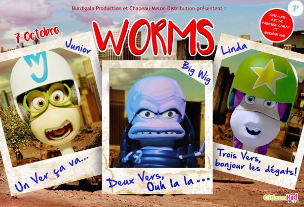 Worms, la bande annonce : Fabienne Carat et Merwan Rim, vers de terre attachants