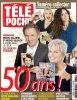 En couverture de TÉLÉPOCHE pour les 50 ans du magazine !!!