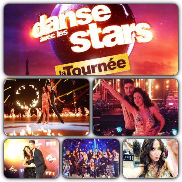 En TOURNÉE DANSE AVEC LES STARS du 9 janvier 2016 au 5 mars 2016 !!!