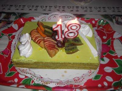 le 09/06/2011 = 18 ans :)
