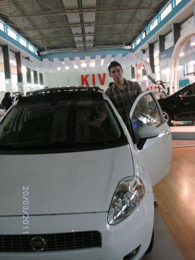 au salon d'autos d'alger 2011