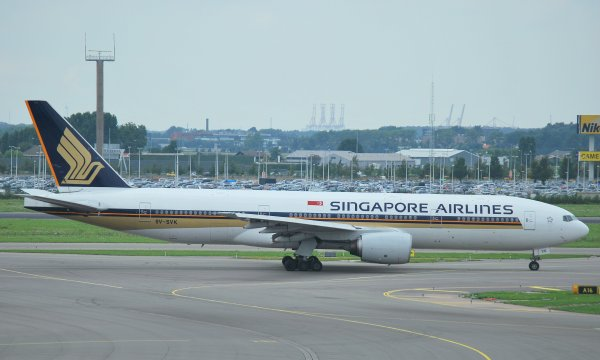 B777-200 Singapore Airlines !
