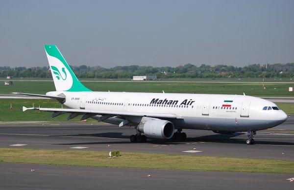 A300-600 Mahan Air