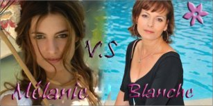 melanie vs blanche