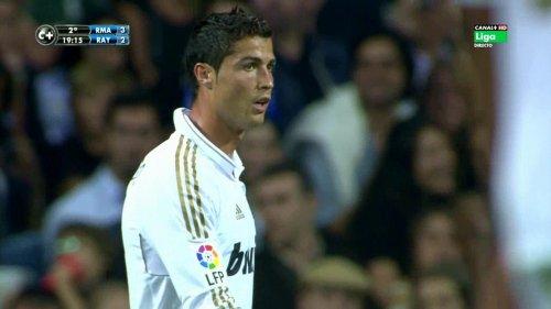 Cristiano Ronaldo vs Rayo Vallecano (H) 11-12 HD 720p (Xris7)