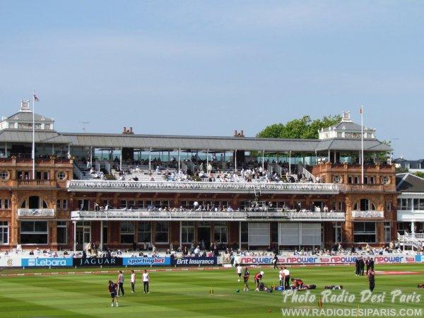 Au Lord's Cricket Ground à Londres le 4 juin 2011