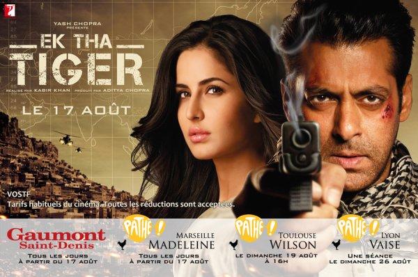 EK THA TIGER au cinéma à partir du 17 août 2012