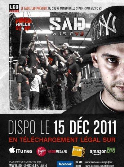 Ming8 Halls Starf & DJ SAD débraquent le 15 décembre !