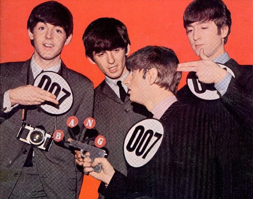 Les Beatles & James Bond