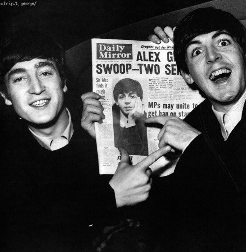 Paul dans le Daily Mirror