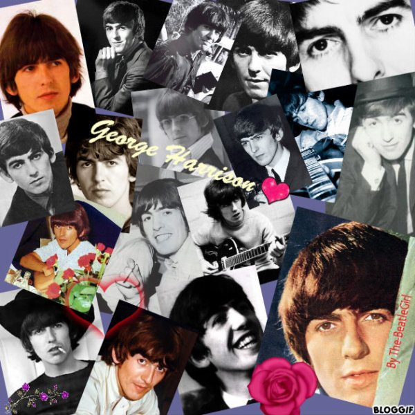 Montage de George Harrison pour ma Nana ♥