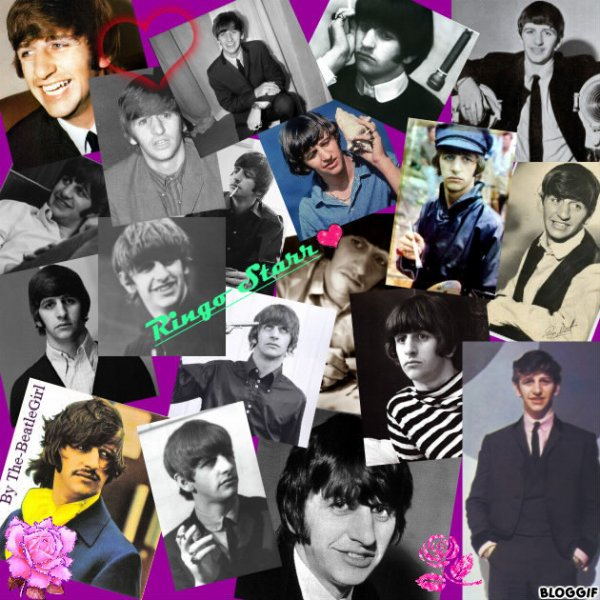 Montage perso de Ringo Starr =)