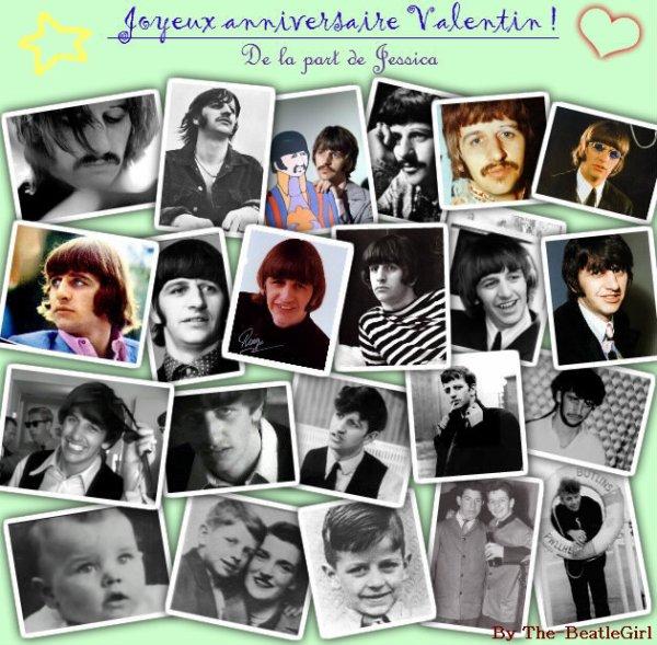 Joyeux anniversaire Ringo-Starr ♥ ♪ ♫