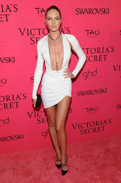 "Candice Swanepoel : LA star du Victoria's Secret Fashion Show 2013 a sublimé à la perfection le ""Fantasy Bra"" !"