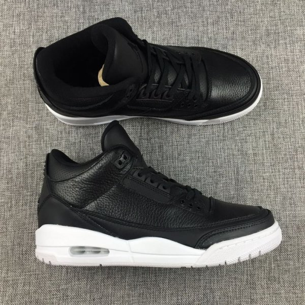 "Air Jordan 3 ""Cyber Monday"" Black/Black-White 136064-020"