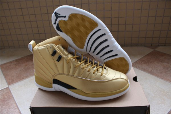 "Air Jordan 12 Pinnacle ""Gold"""