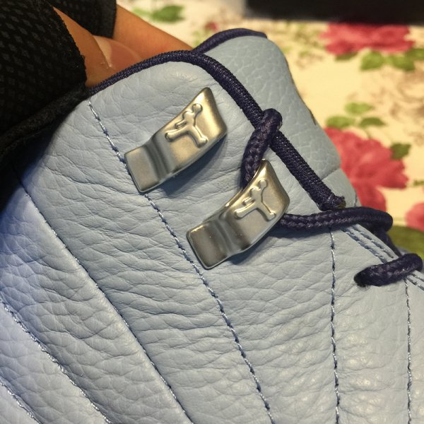 Air Jordan 12 Retro GG Bluecap/Metallic Silver.Dk Purple Women shoes